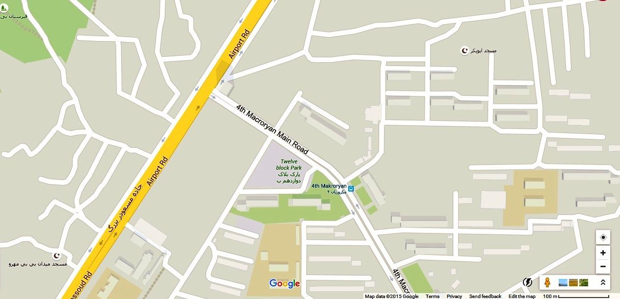 Azizi Plaza Map